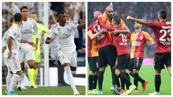 Alineaciones Galatasaray vs Real Madrid Champions League 2019-20