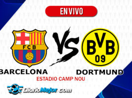Barcelona vs Dortmund EN VIVO Champions League