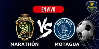 Marathón vs Motagua EN VIVO Pentagonal