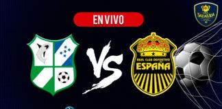 Platense vs Real España EN VIVO