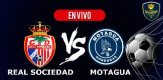Real Sociedad vs Motagua EN VIVO