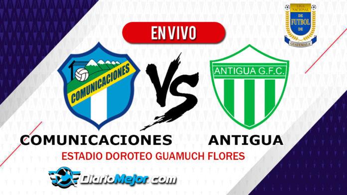 Comunicaciones-vs-Antigua-En-VIVO-Liga-Nacional-Apertura-2019