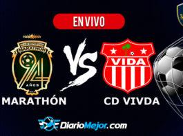 Marathón vs Vida EN VIVO Pentagonal Ligan Nacional Apertura 2019