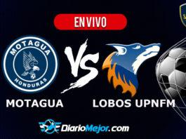Motagua vs Lobos UPNFM EN VIVO Pentagonal Apertura 2019