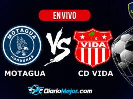 Motagua vs Vida EN VIVO Pentagonal Apertura 2019