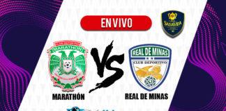 Marathon-vs-Real-Minas-En-VIVO-Liga-Nacional-Clausura-2020