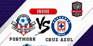 Portmore-United-vs-Cruz-Azul-EN-VIVO-Concachampions-2020
