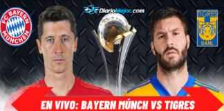 Bayern Múnich vs Tigres EN VIVO