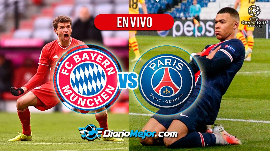 Bayern Múnich vs PSG EN VIVO ONLINE, Hora Y Donde Ver ...