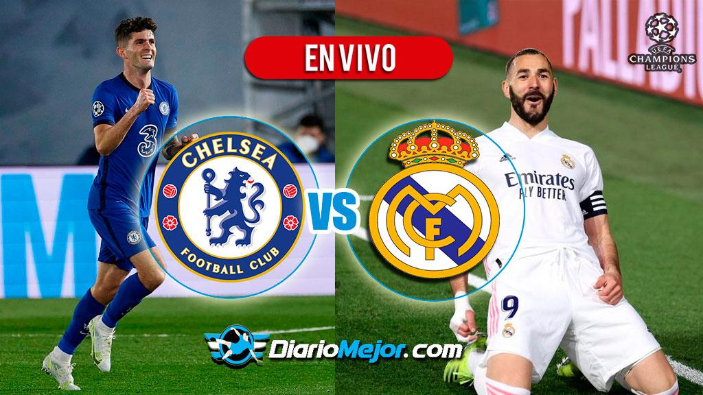 Chelsea vs Real Madrid EN VIVO ONLINE, Hora Y Donde Ver ...