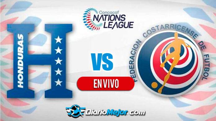 Honduras-Costa-Rica-Liga-Naciones-2022