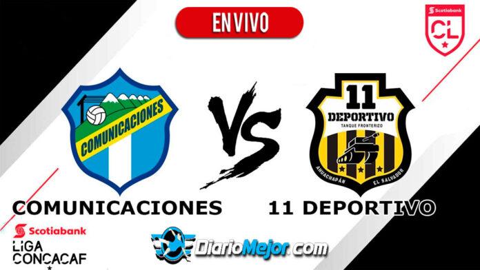 Comunicaciones-vs-11-Deportivo-EN-VIVO-Liga-Concacaf